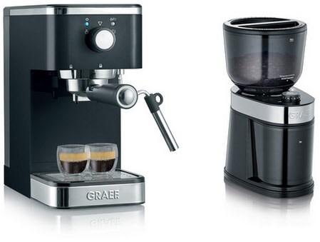 Artikelbild Graef Siebträgermaschine ES 402 Salita + CM 202 Kaffeemühle