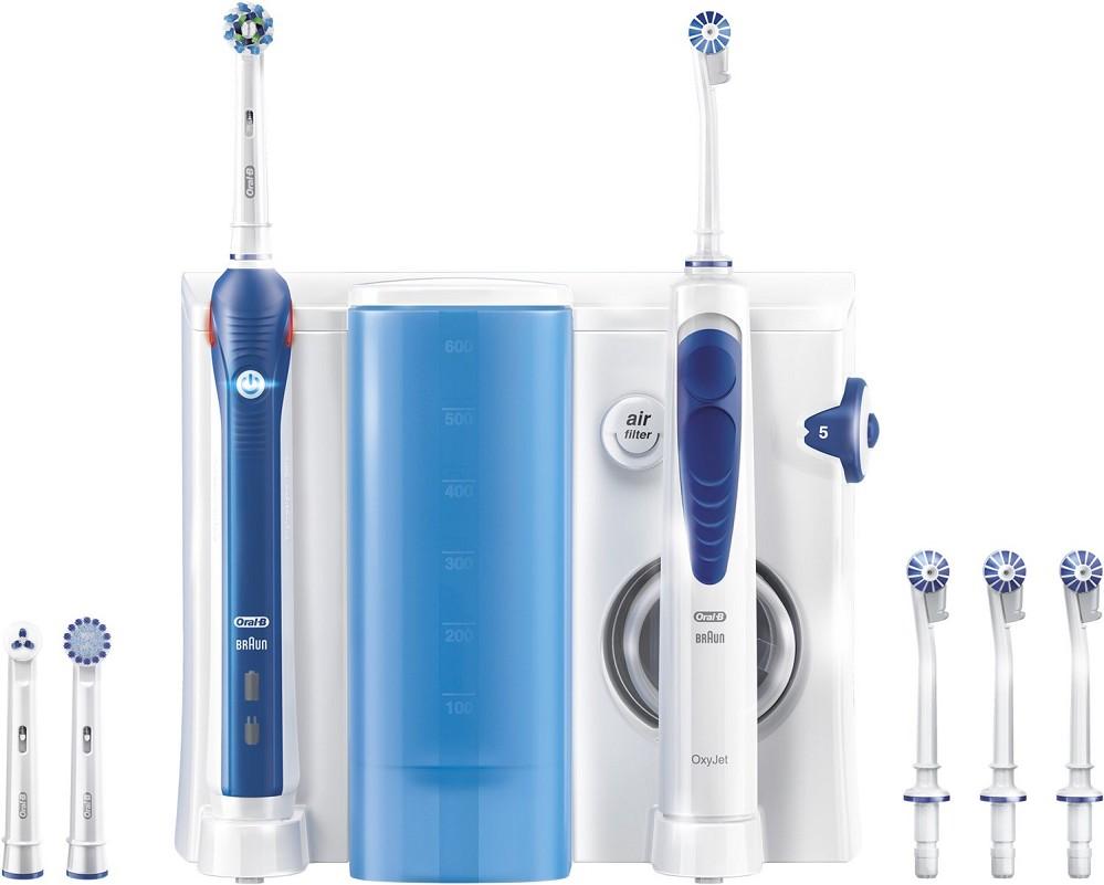 Artikelbild Oral-B Zahn-/Mundpflege-Kombination OxyJet Munddusche + PRO 2