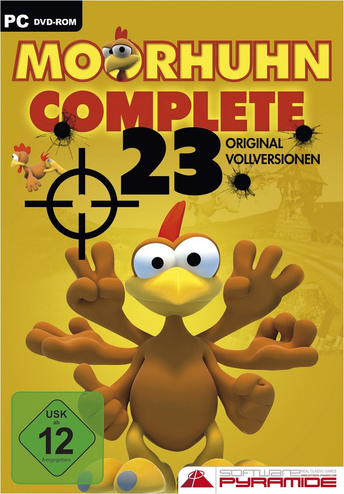Artikelbild AK Tronic Games Moorhuhn Complete PC