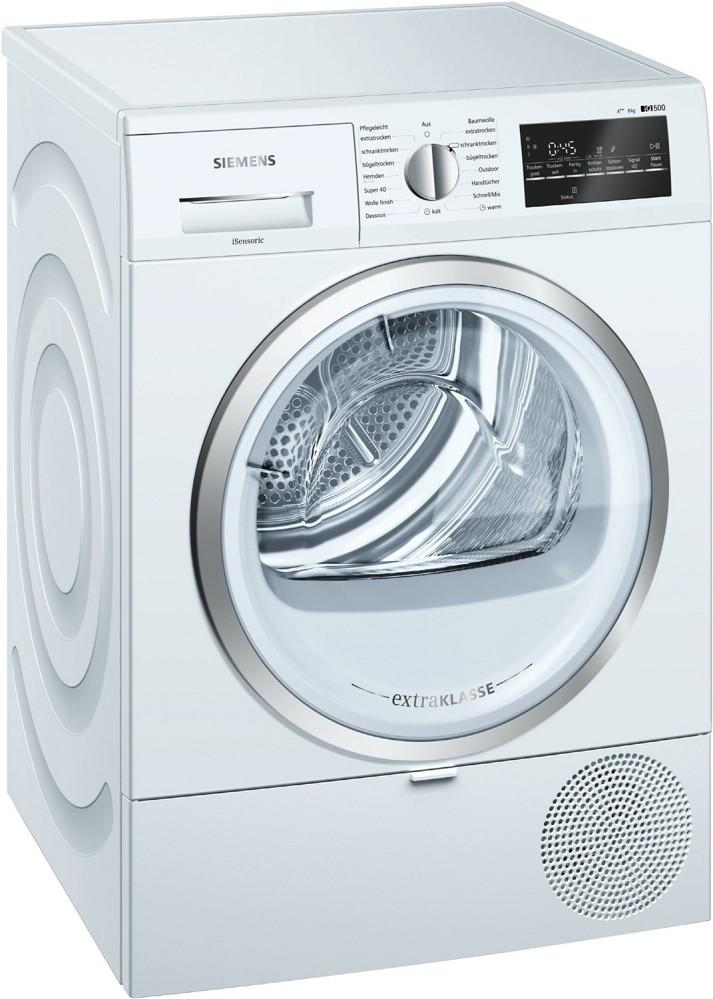 Artikelbild Siemens Wärmepumpentrockner WT45RT80 Wäschetrockner Wärmep. 8 kg A++