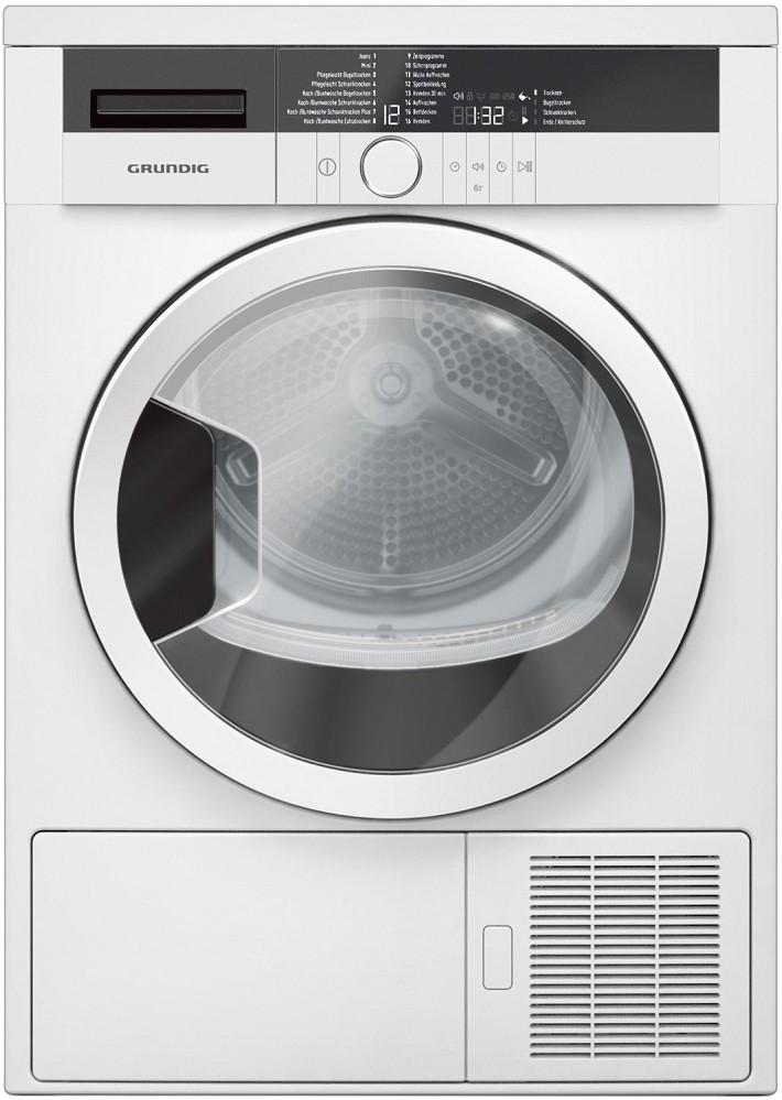 Artikelbild GRUNDIG Wärmepumpentrockner GTA 38261 G Wäschetrockner Wärmepumpe A+++